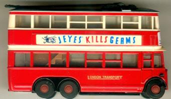 Matchbox/Yester. AEC-Trolleybus Diddler Sonderedition