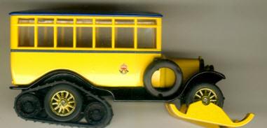 Matchbox/Yester. Scania-Vobis Post Bus Sonderedition