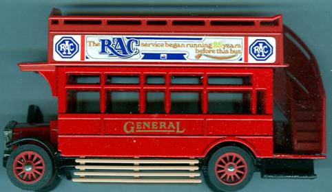 Matchbox/Yester. AEC-Omnibus RAC.