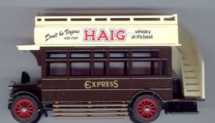 Matchbox/Yester. AEC-Omnibus Haig