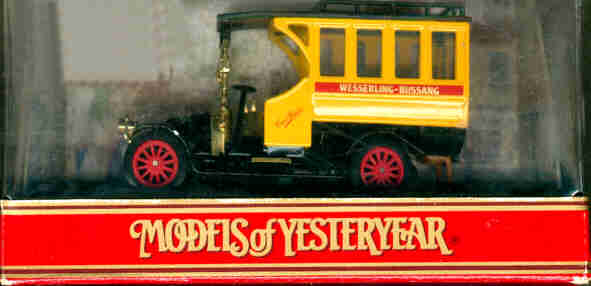 Matchbox/Yester. Renault Bus 1910 Wesserling-Bussang