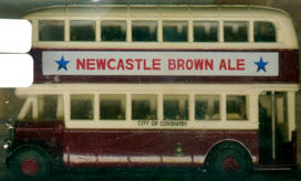Matchbox/Yester. Leyland Titan TD1 NEWCASTLWE BROWN ALE