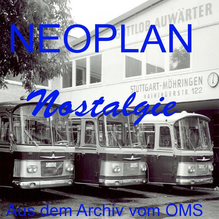 Neoplan-Nostalgie DVD-Fotoshow Aus dem Archiv vom OMS RR