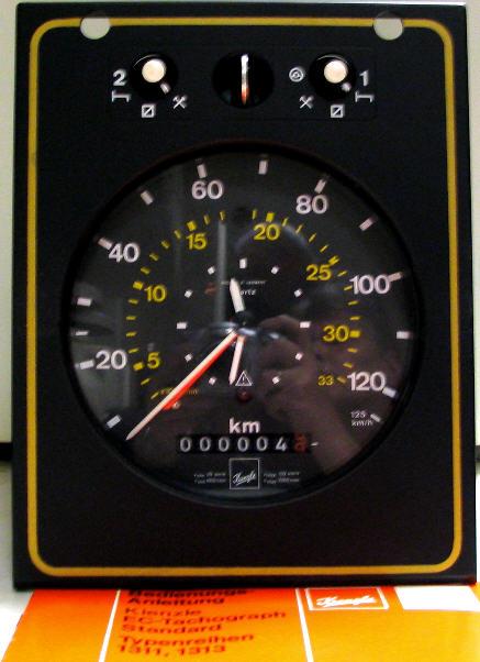 Tachograph -  Kienzle